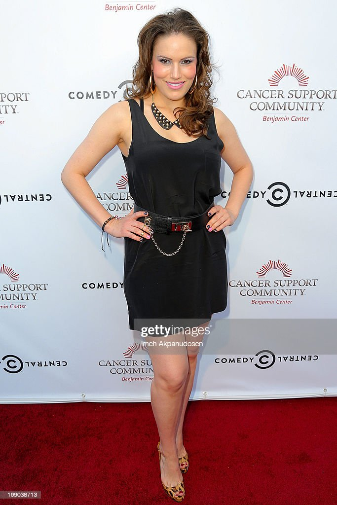 Vanessa Gomez attends A Night of Fresh Comedy and Art celebrating Gilda Radner's legacy at Museum of Flying on May 18, 2013 in Santa Monica, California.