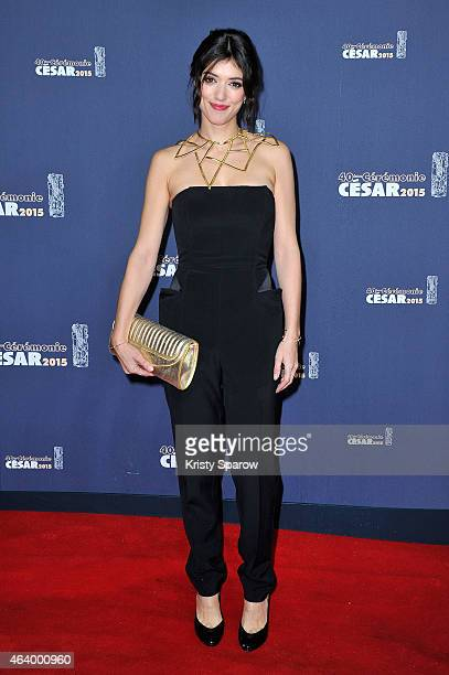 Vanessa Guide attends the 40th Cesar Film Awards at Theatre du Chatelet on February 20 2015 in Paris France