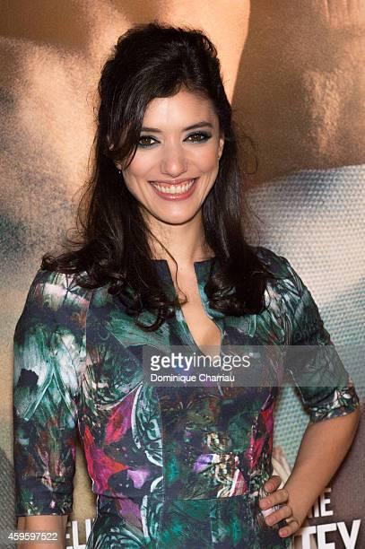 Vanessa Guide attends the 'La French' Paris Premiere at Cinema Gaumont Capucine on November 25 2014 in Paris France