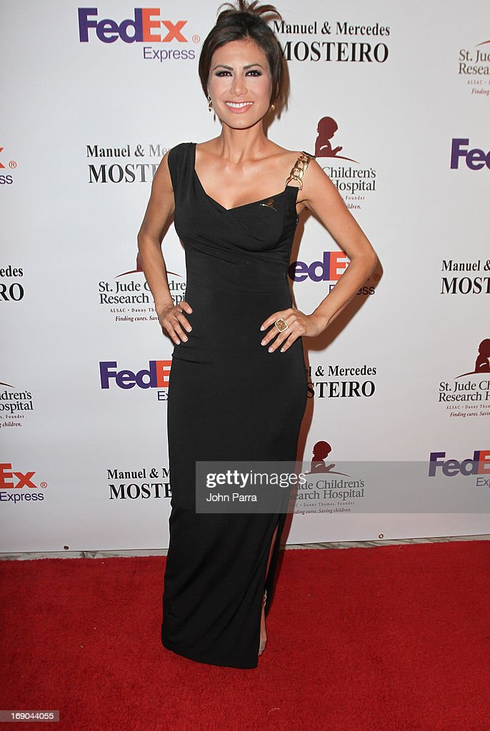 Vanessa Hauc attends 11th annual FedEx/St. Jude Angels & Stars Gala in Miami at JW Marriott Marquis on May 18, 2013 in Miami, Florida.