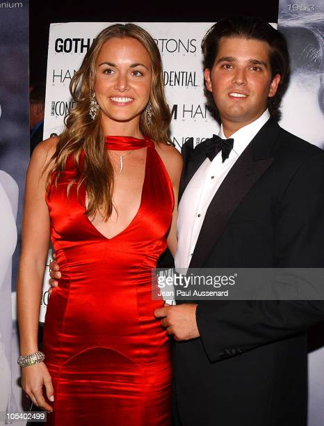 Vanessa Haydon and Donald Trump Jr during The 53rd Annual Miss USA Competition After Party Arrivals at Avalon in Hollywood California United States