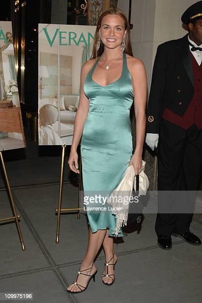 Vanessa Haydon during Donald Trump Hosts the Opening Night Reception of Veranda New York's Best at Trump Park Avenue The Ultimate Showcase Penthouse...