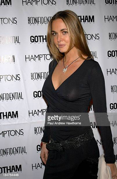 Vanessa Haydon during Kim Cattrall Hosts the StarStudded Anniversary Celebration of Gotham and LA Confidential Magazines – Arrivals at Gotham Hall in...