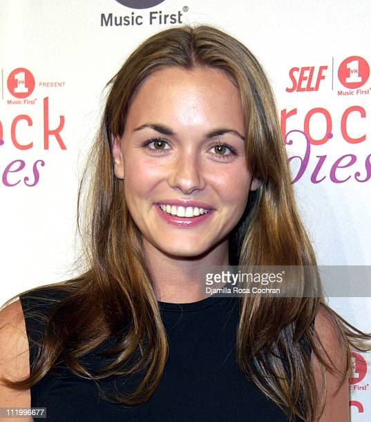 Vanessa Haydon during Premiere Party for 'Rock Bodies' Presented by VH1 and Self Magazine at Splashlight Studios in New York City New York United...