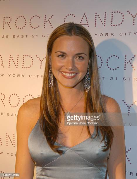 Vanessa Haydon during The Launch of Rock Candy at Rock Candy in New York City New York United States