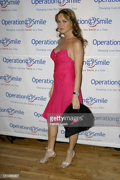 Vanessa Haydon during The Smile Collection Billy Bush to Host a Premiere Event and Fashion Show to Benefit Operation Smile at Waterfront NY in New...