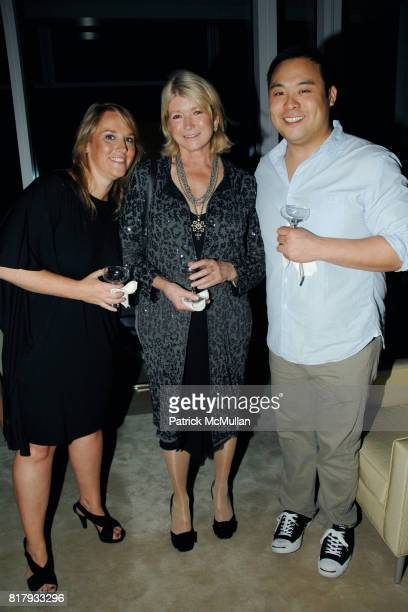 Vanessa Holden Martha Stewart and David Chang attend MARTHA STEWART celebrates Editor in Chief VANESSA HOLDEN'S September Issue of MARTHA STEWART...