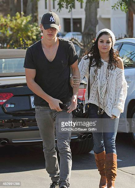Vanessa Hudgens and Austin Butler are seen on January 12 2012 in Los Angeles California