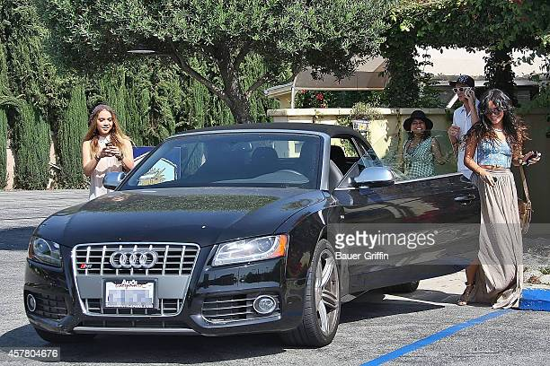 Vanessa Hudgens and her sister Stella Hudgens are seen on May 11 2012 in Los Angeles California