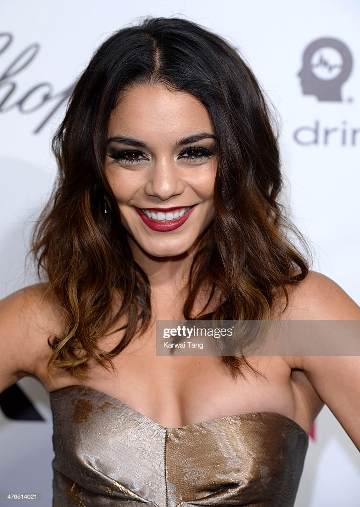 Vanessa Hudgens arrives for the 22nd Annual Elton John AIDS Foundation's Oscar Viewing Party held at West Hollywood Park on March 2, 2014 in West Hollywood, California.