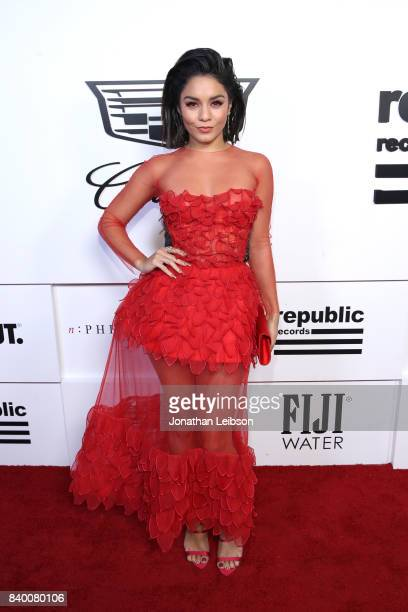 Vanessa Hudgens at Republic Records VMA Party presented in partnership with FIJI Water at TAO at the Dream Hotel on August 27 2017 in Los Angeles...