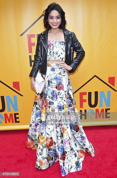 Vanessa Hudgens attends opening night of 'Fun Home' at Circle in the Square Theatre on April 19 2015 in New York City
