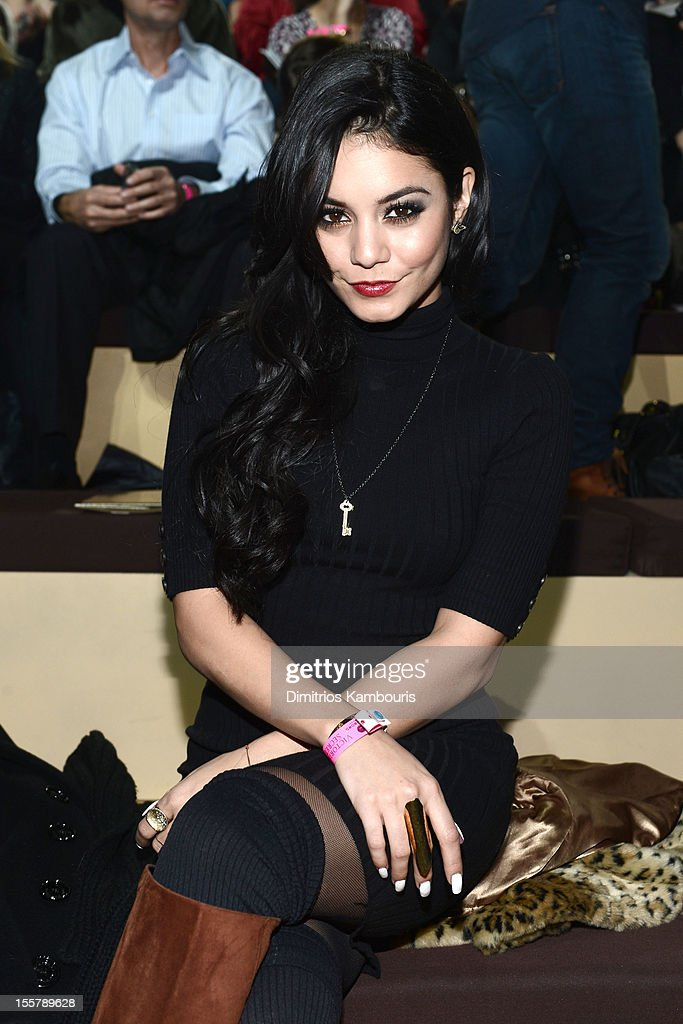 Vanessa Hudgens attends the 2012 Victoria's Secr 7, 2012 in New York City.