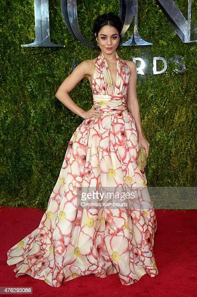 Vanessa Hudgens attends the 2015 Tony Awards at Radio City Music Hall on June 7 2015 in New York City
