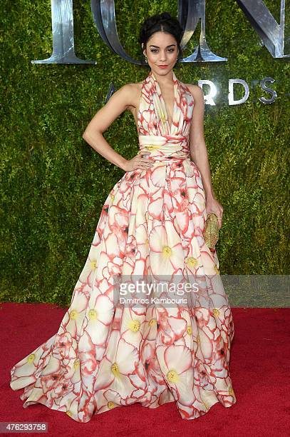 Vanessa Hudgens attends the 2015 Tony Awards at Radio City Music Hall on June 7 2015 in New York City