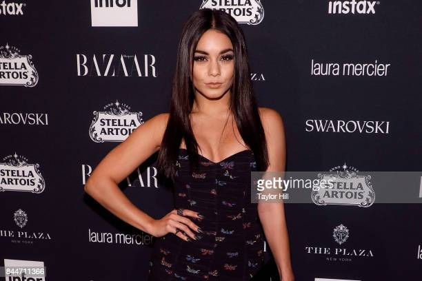 Vanessa Hudgens attends the 2017 Harper ICONS party at The Plaza Hotel on September 8 2017 in New York City
