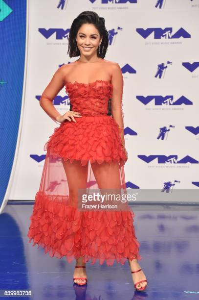 Vanessa Hudgens attends the 2017 MTV Video Music Awards at The Forum on August 27 2017 in Inglewood California