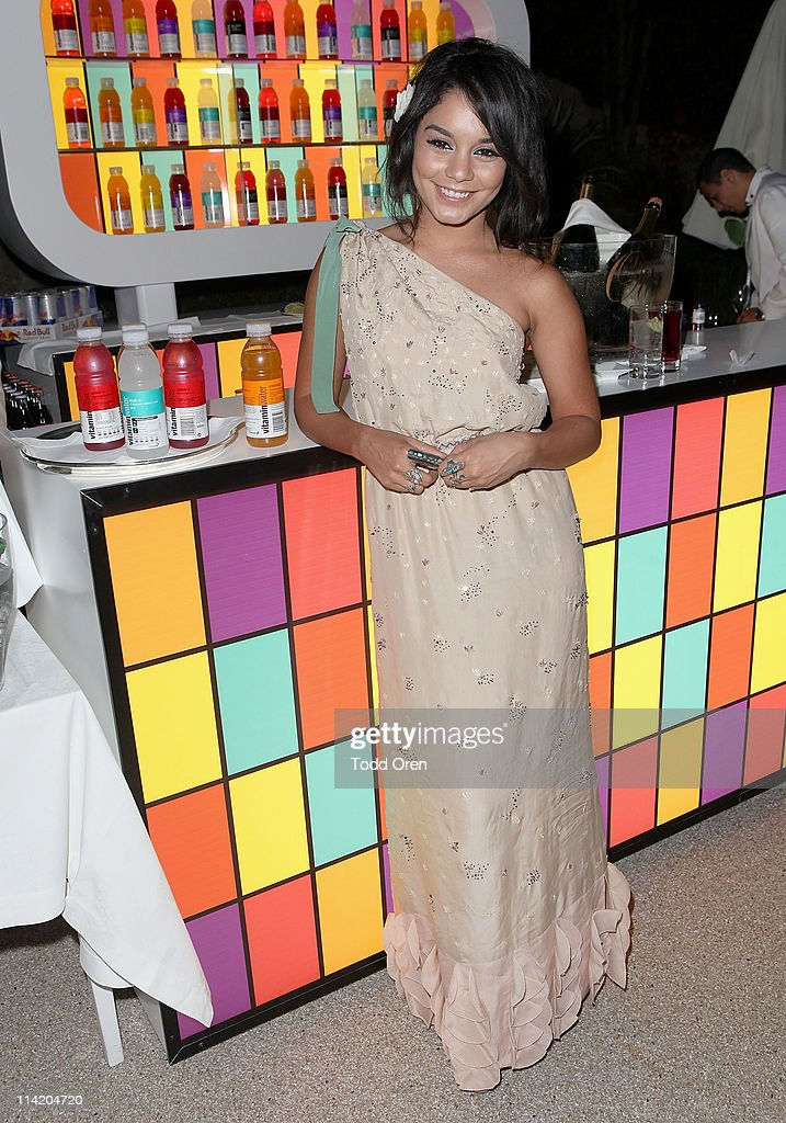 Vanessa Hudgens attends the Art Of Elysium 3rd Annual Paradis Event hosted by vitaminwater at Hotel Du Cap on May 15, 2011 in Antibes, France.