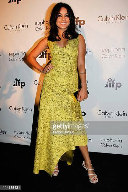 Vanessa Hudgens attends the Calvin Klein Event during the 64th Annual Cannes Film Festival at Martinez Hotel on May 12 2011 in Cannes France
