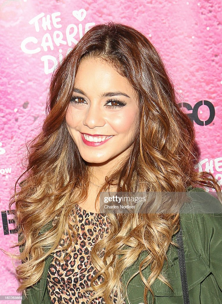Vanessa Hudgens attends 'The Carrie Diaries' Season Two Premiere Party hosted By Bongo September 28, 2013 in New York, United States.