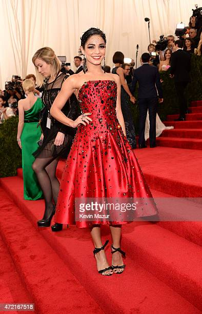 Vanessa Hudgens attends the 'China Through The Looking Glass' Costume Institute Benefit Gala at Metropolitan Museum of Art on May 4 2015 in New York...