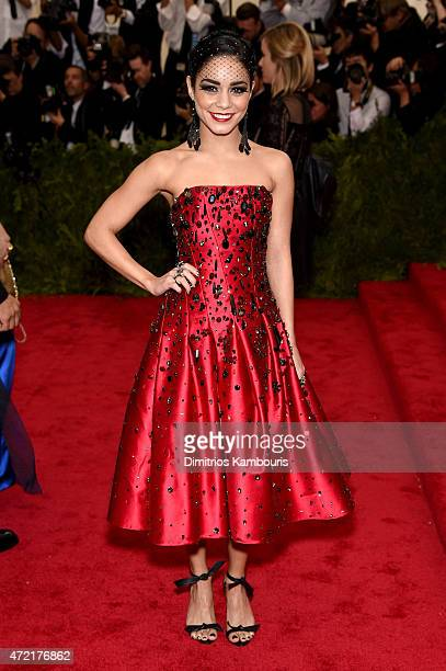 Vanessa Hudgens attends the 'China Through The Looking Glass' Costume Institute Benefit Gala at the Metropolitan Museum of Art on May 4 2015 in New...