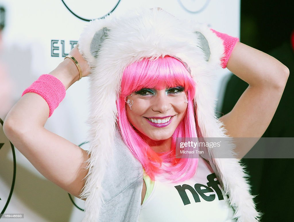 Vanessa Hudgens attends the Electric Run LA held at The Home Depot Center on May 24, 2013 in Carson, California.