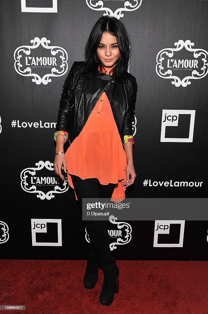 Vanessa Hudgens attends the L'Amour By Nanette Lepore For JCP Launch Party at Good Units on January 24, 2013 in New York City.