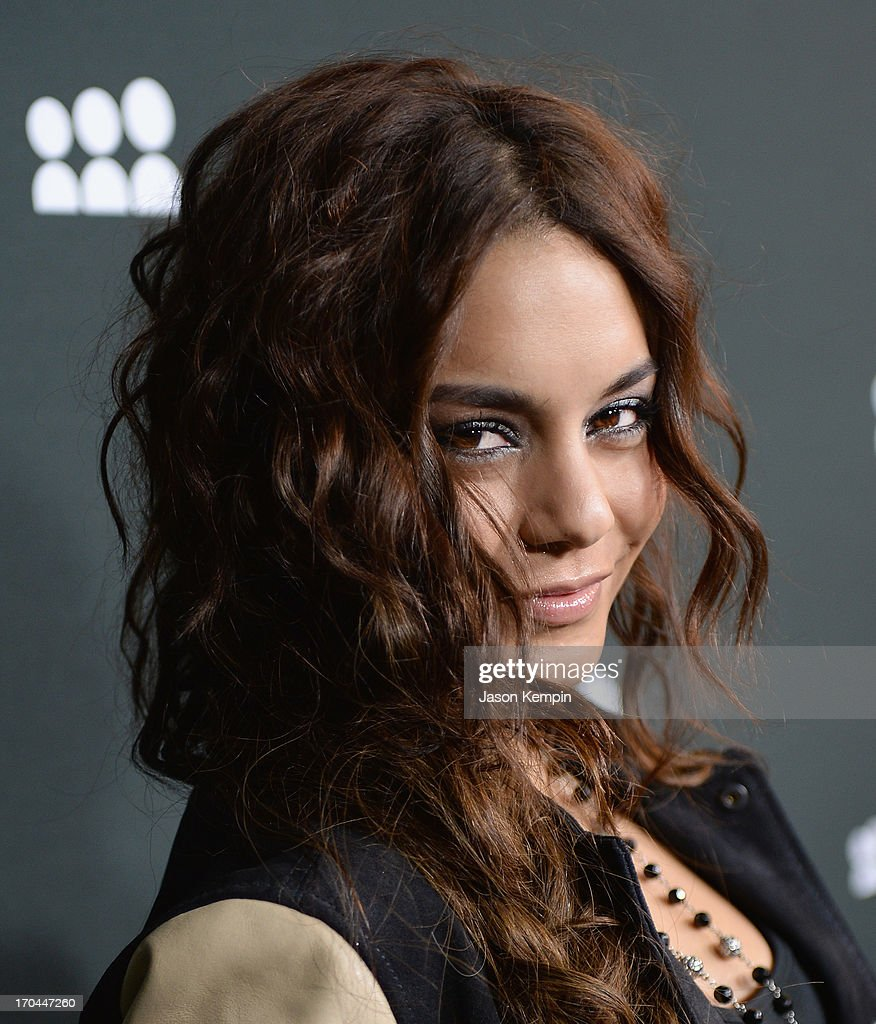 Vanessa Hudgens attends the New Myspace launch event on June 12, 2013 in Los Angeles, California.