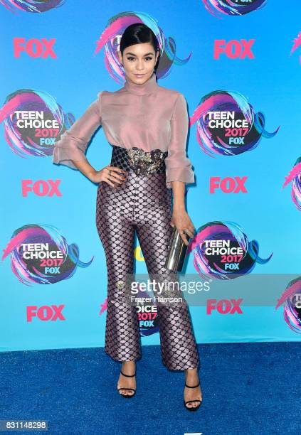 Vanessa Hudgens attends the Teen Choice Awards 2017 at Galen Center on August 13 2017 in Los Angeles California