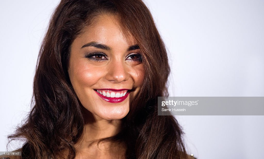 Vanessa Hudgens attends the UK Premiere of 'The Frozen Ground' at the Vue West End Leicester Square on July 17, 2013 in London, England.