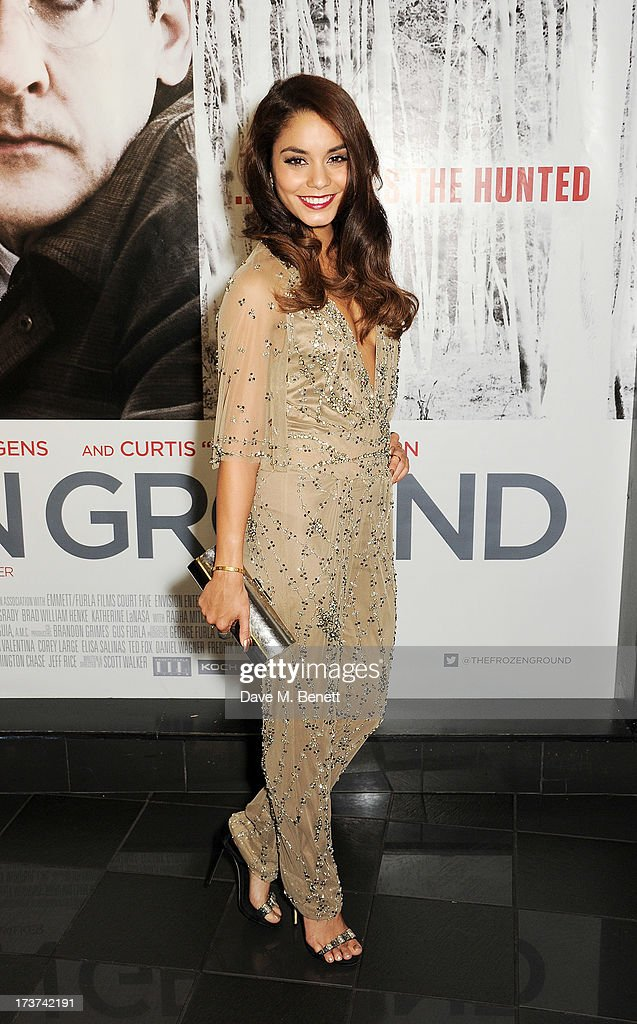 Vanessa Hudgens attends the UK Premiere of 'The Frozen Ground' at Vue West End on July 17, 2013 in London, England.