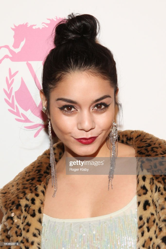 Vanessa Hudgens attends the Wildfox Fall 2013 Collection Presentation & Live Performance at Capitale on February 6, 2013 in New York City.