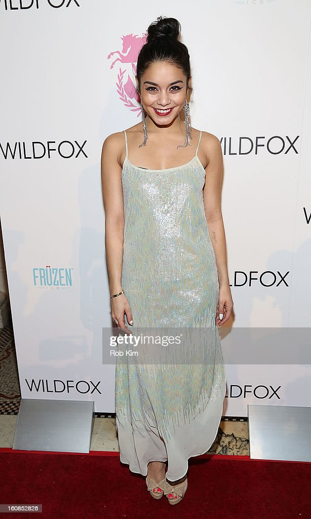 Vanessa Hudgens attends the Wildfox presentation during Fall 2013 Mercedes-Benz Fashion Week at Capitale on February 6, 2013 in New York City.