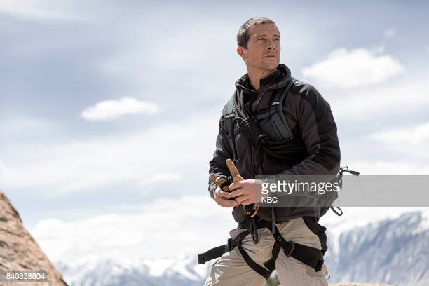 GRYLLS 'Vanessa Hudgens' Episode 302 Pictured Bear Grylls