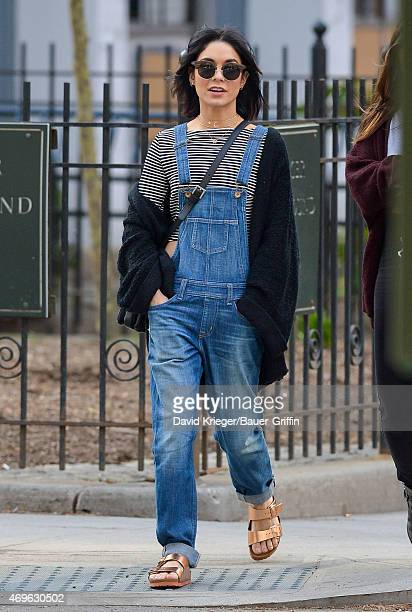 Vanessa Hudgens is seen on April 13 2015 in New York City