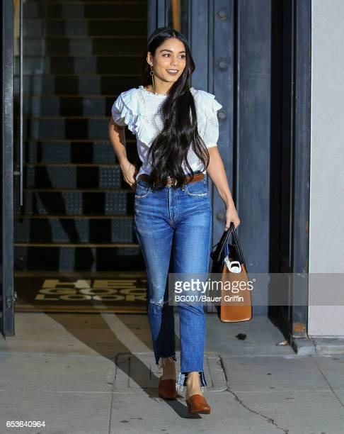 Vanessa Hudgens is seen on March 15 2017 in Los Angeles California