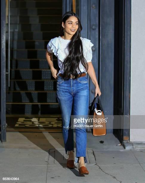 Vanessa Hudgens is seen on March 15 2017 in Los Angeles California
