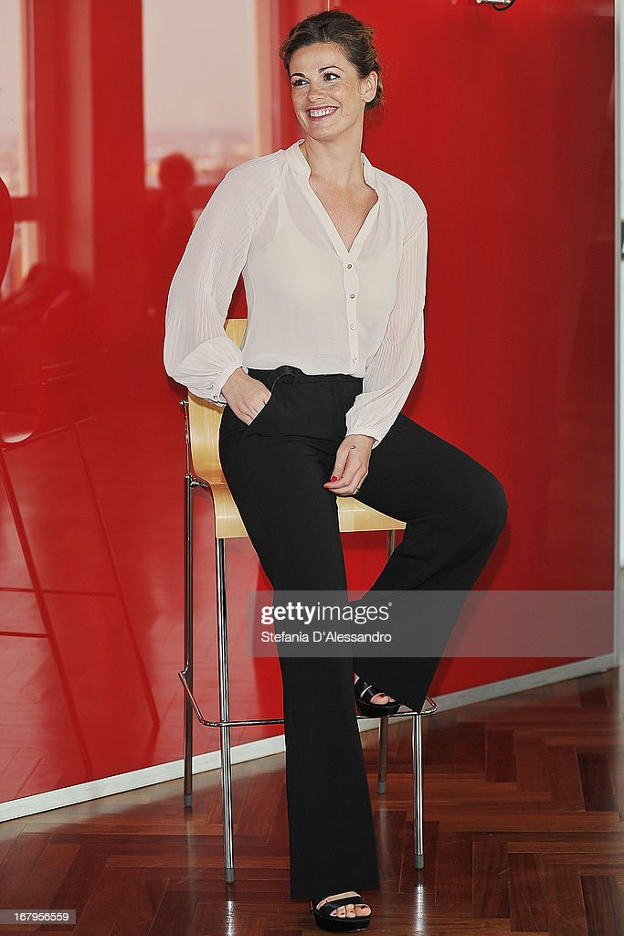 Vanessa Incontrada attends a photocall for 'Mi Rifaccio Vivo' on May 3, 2013 in Milan, Italy.