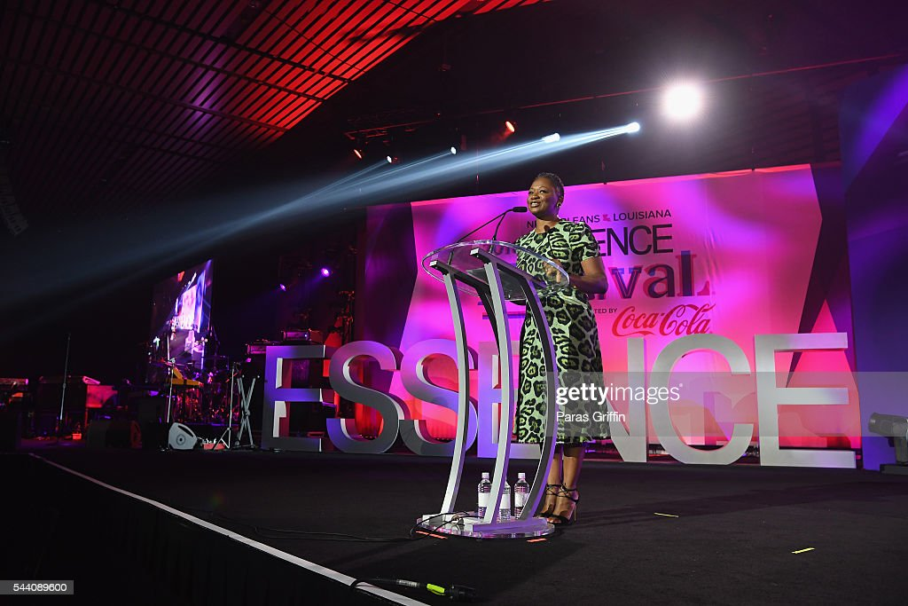 Vanessa K. De Luca, editor in chief of ESSENCE magazine, speaks onstage at the 2016 ESSENCE Festival Presented By Coca-Cola at Ernest N. Morial Convention Center on July 1, 2016 in New Orleans, Louisiana.