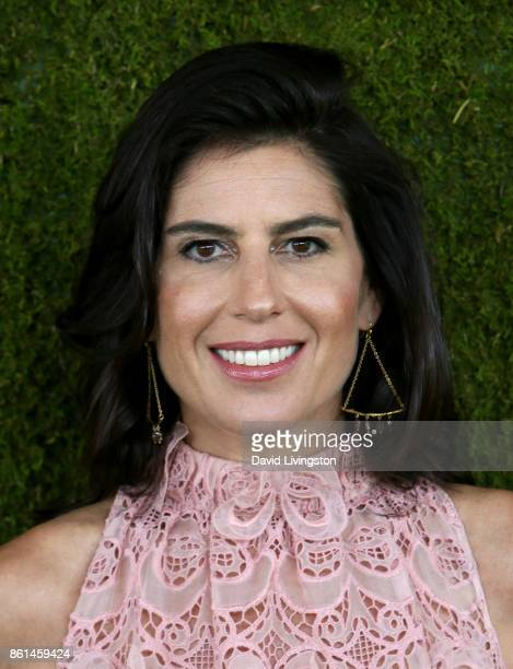 Vanessa Kay attends the 8th Annual Veuve Clicquot Polo Classic at Will Rogers State Historic Park on October 14 2017 in Pacific Palisades California