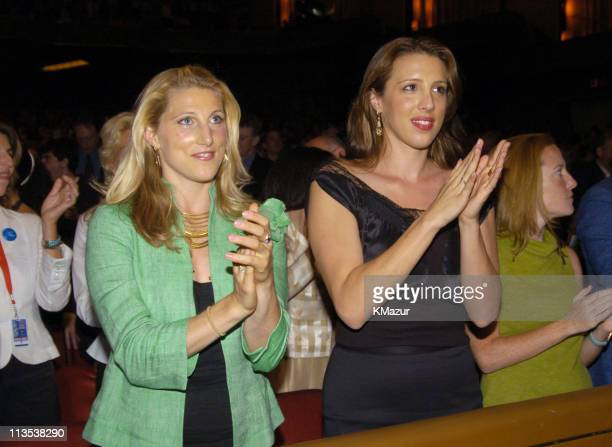Vanessa Kerry and Alexandra Kerry at Radio City Music Hall in New York City for 'A Change Is Going To Come The Concert for John Kerry' on Thursday...