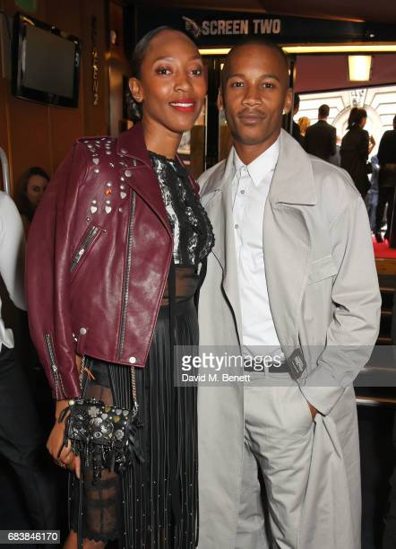 Vanessa Kingori and Eric Underwood attend the London screening of 'Can't Stop Won't Stop A Bad Boy Story' presented by Apple Music at The Curzon...