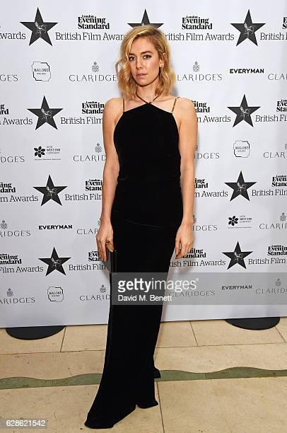 Vanessa Kirby arrives at The London Evening Standard British Film Awards at Claridge's Hotel on December 8 2016 in London England