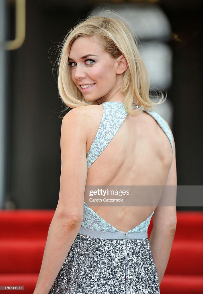Vanessa Kirby attends the 'About Time' world premiere at Somerset House on August 8, 2013 in London, England.