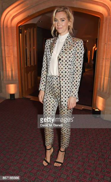 Vanessa Kirby attends the BFI and IWC Luminous Gala at The Guildhall on October 3 2017 in London England