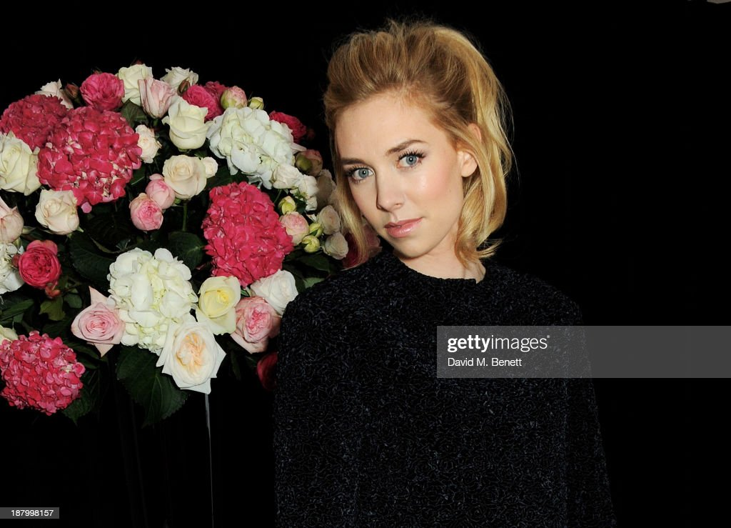 Vanessa Kirby attends the opening of the Dior Beauty Boutique in Covent Garden on November 14, 2013 in London, England.