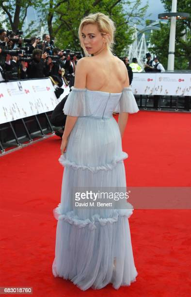 Vanessa Kirby attends the Virgin TV BAFTA Television Awards at The Royal Festival Hall on May 14 2017 in London England
