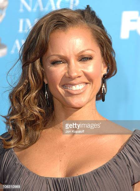 Vanessa L Williams during 38th Annual NAACP Image Awards Arrivals at Shrine Auditorium in Los Angeles California United States