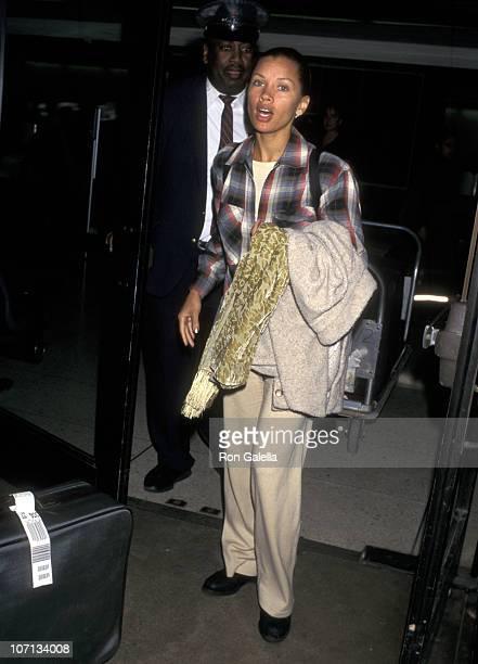 Vanessa L Williams during Vanessa L Williams Sighting at Los Angeles International Airport March 31 1997 at Los Angeles International Airport in Los...